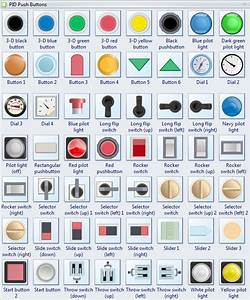 P U0026id Push Buttons Symbols And Their Usage