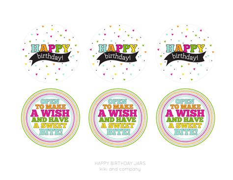 Happy Birthday Jar {free Printable}  Kiki & Company. Sports Psychology Graduate Programs. Sample Letter Of Recommendation For Nursing Graduate School. Daily Log Sheet Template Free. Online Pregnancy Announcement. Wedding Program Template Free. Valentines Day Flyer. Letter Pad Design Template. Human Resource Ppt Template