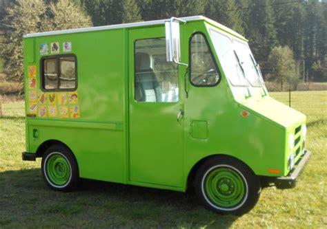 general postalmail vantruck ice cream truck