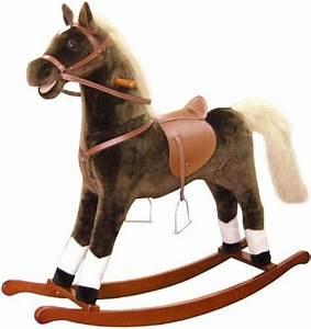Cheval A Bascule : cheval bascule grand mod le animal bascule anim cheval porteur avec mouvement ~ Teatrodelosmanantiales.com Idées de Décoration