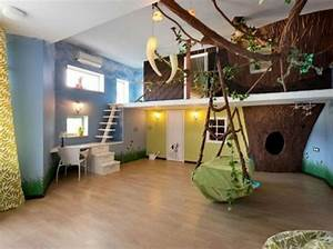 Piraten Deko Kinderzimmer : dschungel kindertapete kinderzimmer gestalten ~ Lizthompson.info Haus und Dekorationen