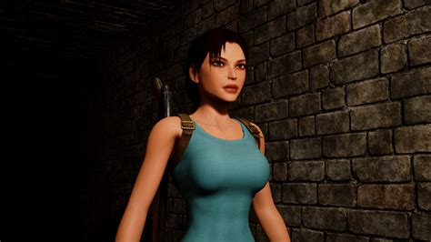 tomb raider    amazing ue remake crystal dynamics