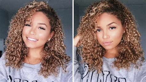 How To Clip-in Curly Extensions For 3b 3c Hair  Bella