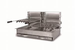 Barbecue Gaz Et Charbon : barbecue charbon inox encastrable ~ Dailycaller-alerts.com Idées de Décoration