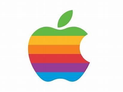 Apple Rainbow Logok Famous Janoff Rob Retro