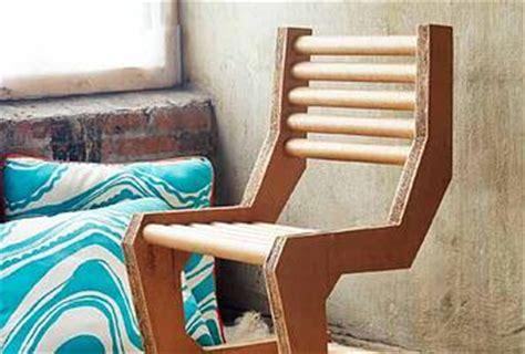diy cardboard chair paperblog