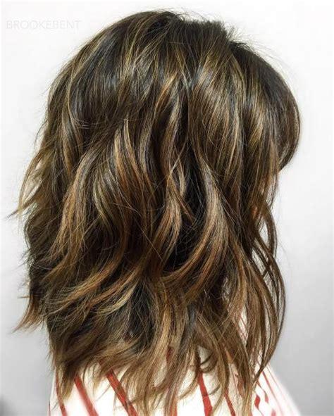 sensational medium length haircuts  thick hair