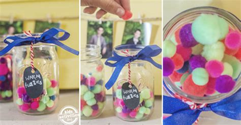 warm fuzzies jar positive reinforcement activity  kids