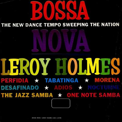 Bossa Nova - Leroy Holmes mp3 buy, full tracklist