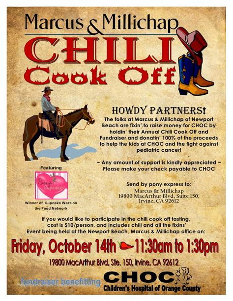 chili cook  email flyer