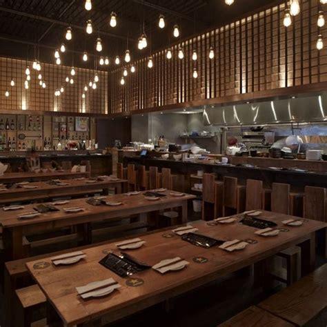 cuisine interiors small contemporary restaurant designs japanese