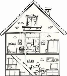 cartoon black and white living room wiring source With wiring house