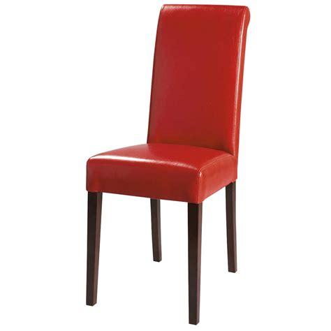 chaise boston maison du monde chaise en polyuréthane et châtaignier boston maisons du monde