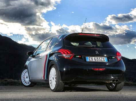 lettering sport peugeot 208 gti nine special edition with oz racing