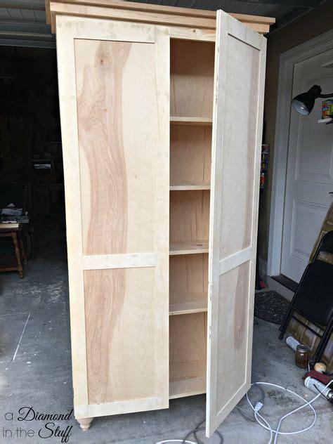 tall storage cabinet  doors plans  matter