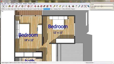 floor plans  trebld  sketchup tutorial youtube