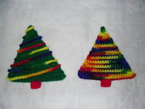 Free Coaster Crochet Pattern Christmas Tree
