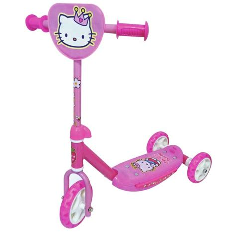 buy hello kitty wide ride tri scooter pink at argos co