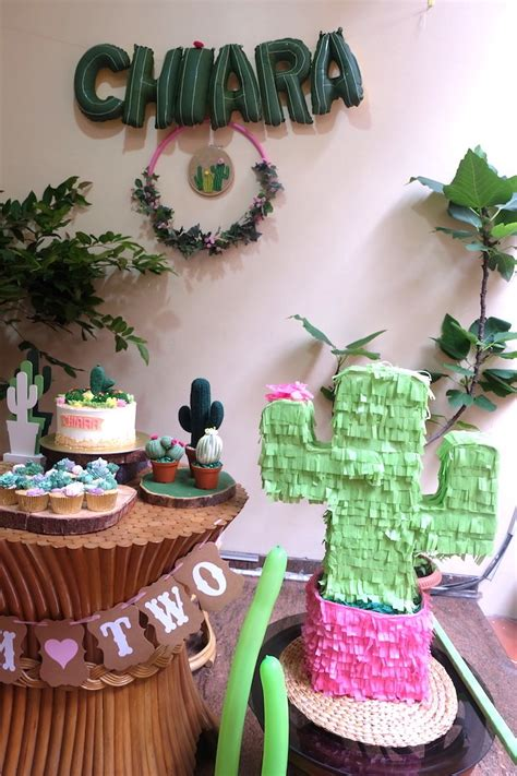 Ideas Birthday by Kara S Ideas Cactus Garden Birthday Kara S