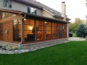 10 Design Idea Chicagoland Screen Porch Ideas Types Screened Porch Flooring