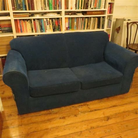 tatty settee free two 2 seat sofas one is a sofa bed