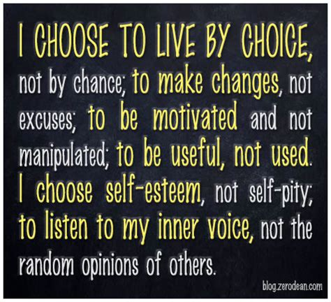 how to choose where to live i choose quotes quotesgram