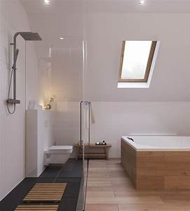 Laminat Im Bad : bodengleiche dusche im badezimmer offene designs nasszellen ~ Frokenaadalensverden.com Haus und Dekorationen