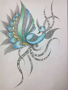 """Abstract Peacock II"" 