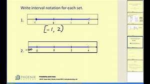 Interval Notation - YouTube