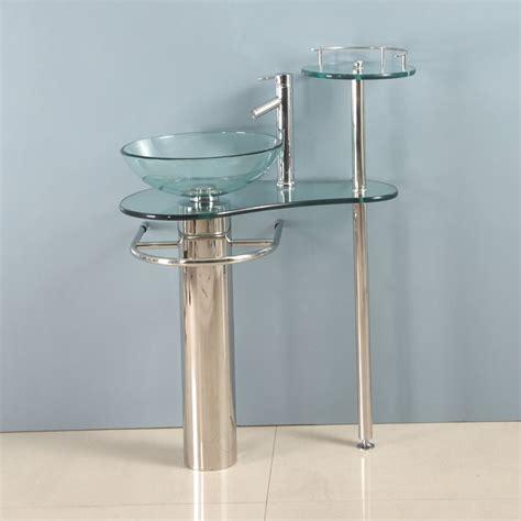 28 inch modern bathroom vanities tempered glass design