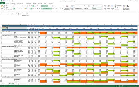 excel survey analyze your survey results in excel checkmarket
