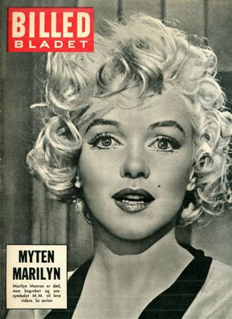marilyn monroe first magazine cover pulp international four covers of billed bladet with