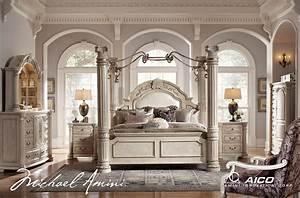Michael Amini Monte Carlo Silver Pearl II Traditional