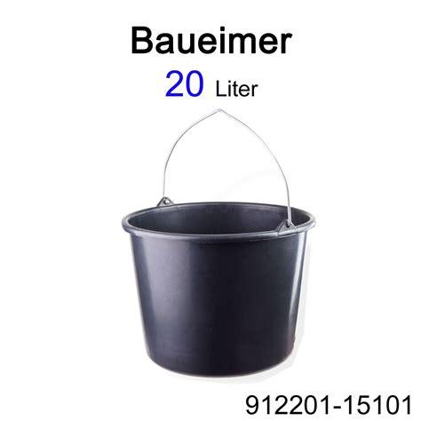 baueimer 12 l m 246 rtelk 252 bel m 246 rtelwannen baueimer 12 90 ltr kunststoff rund eckig griffmulden ebay