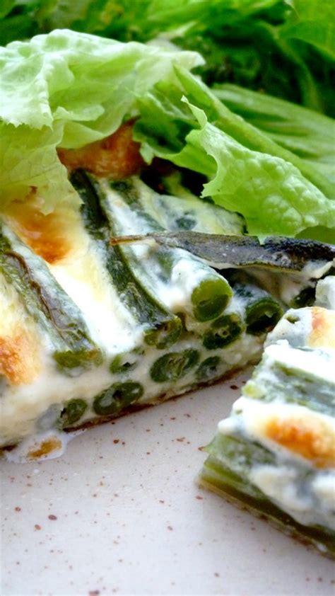 tarte de haricots verts 224 la sauge cuisine de tous les jours