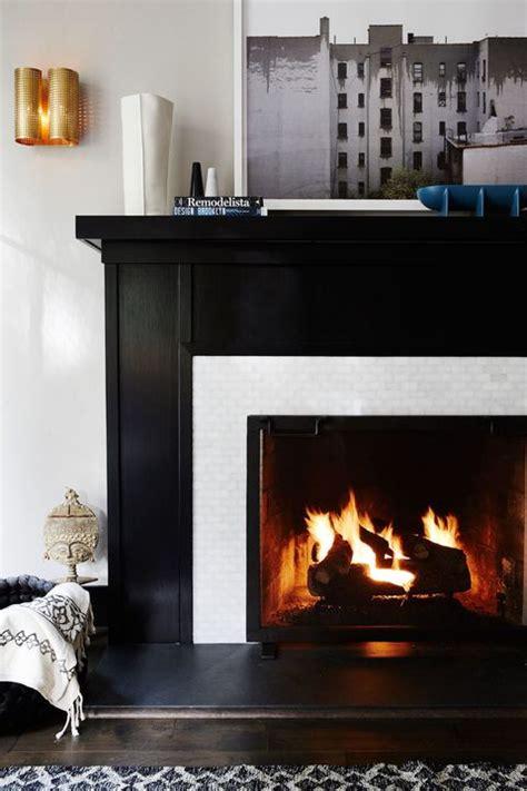 chic fireplace tile ideas tile designs