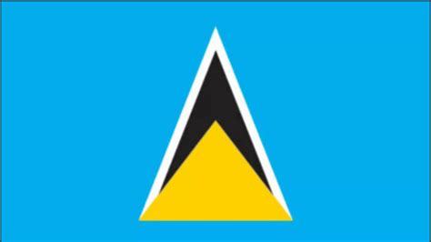 Image result for the national flag of st lucia