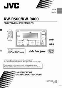 Notice Jvc Kw-r500
