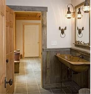 Badezimmer Selber Bauen : rustikale holzwand selber bauen europaletten badezimmer holz kreativ pinterest rustikale ~ Bigdaddyawards.com Haus und Dekorationen