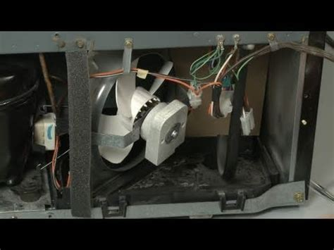 refrigerator condenser fan not working fridge condenser fan motor replacement ge refrigerator