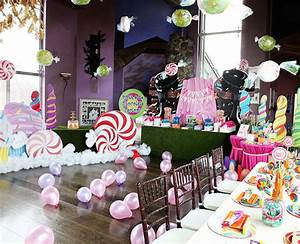 Amazing willy wonka themed kids birthday party for These diy party decorations are incredible