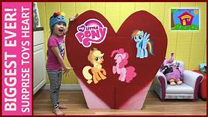 World's Biggest Surprise Toys Heart Ever! My Little Pony ...