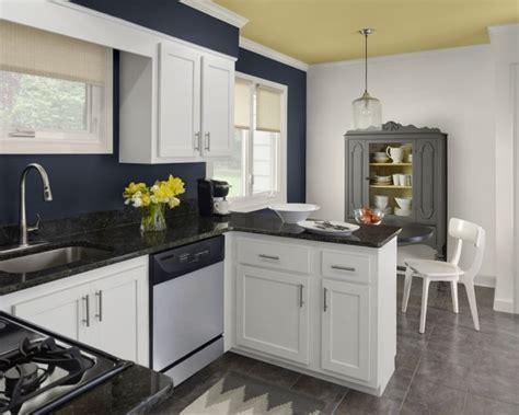 peinture murs cuisine peinture cuisine 40 idées de choix de couleurs modernes