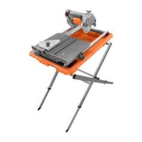 Home Depot Ridgid Tile Saw by Ridgid Tile Saw With Laser Products I
