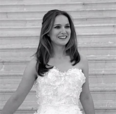 Natalie Portman For Miss Dior Celebrity Wedding