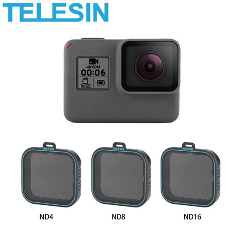 telesin pcs filter lens gopro hero