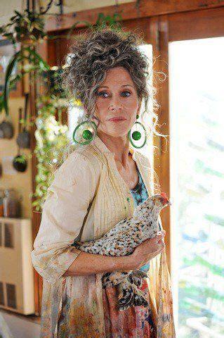 jane fonda    hippie  peace love  misunderstanding grey hair inspiration jane fonda
