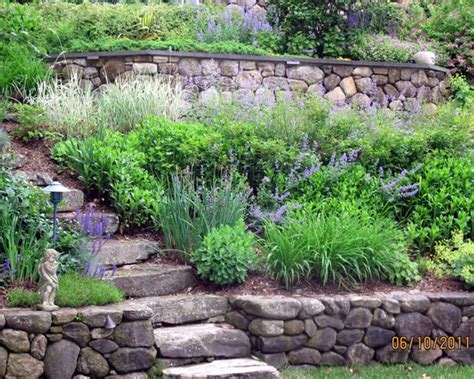 ideas for gardens on a slope landscaping landscaping ideas hills or slopes or banks