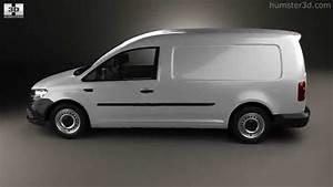 Volkswagen Caddy Maxi Panel Van 2015 By 3d Model Store