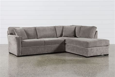chaise sleeper sofa aspen 2 sleeper sectional w raf chaise living spaces